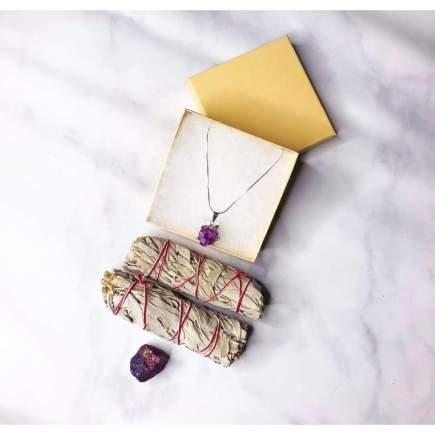 Embrace The Calm Pendant Necklace Set - SOUL IMPACTFUL