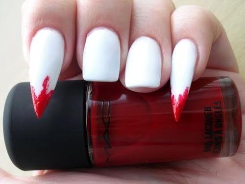Bloody Mary's - Pin Inspired - Pretty and Pressed Nails