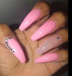 Barbie All Grown Up - Pin Inspired - Pretty and Pressed Nails