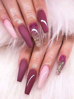 Transition - Pin Inspired - Pretty and Pressed Nails