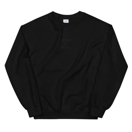 Booked & Busy Sweatshirt