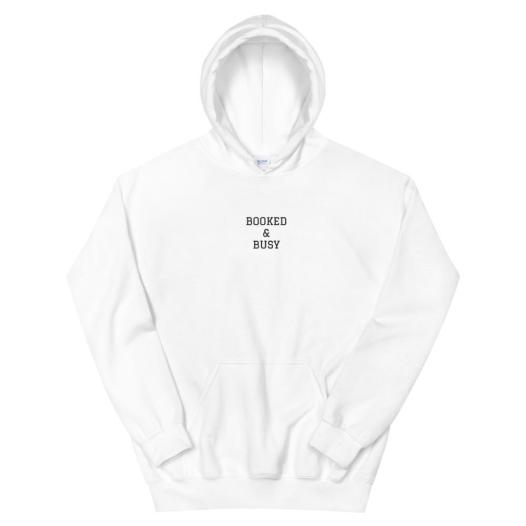Booked & Busy Unisex Hoodie