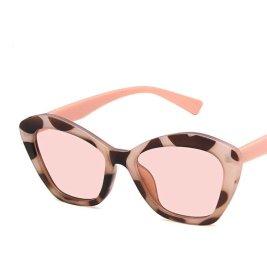 """Jeanette"" Two-Tone Flat Lens Sunglasses - Regal Kouture"