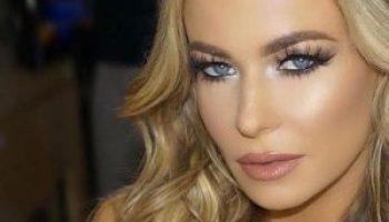 Female stars teachyou to wear Fake mink eyelashes