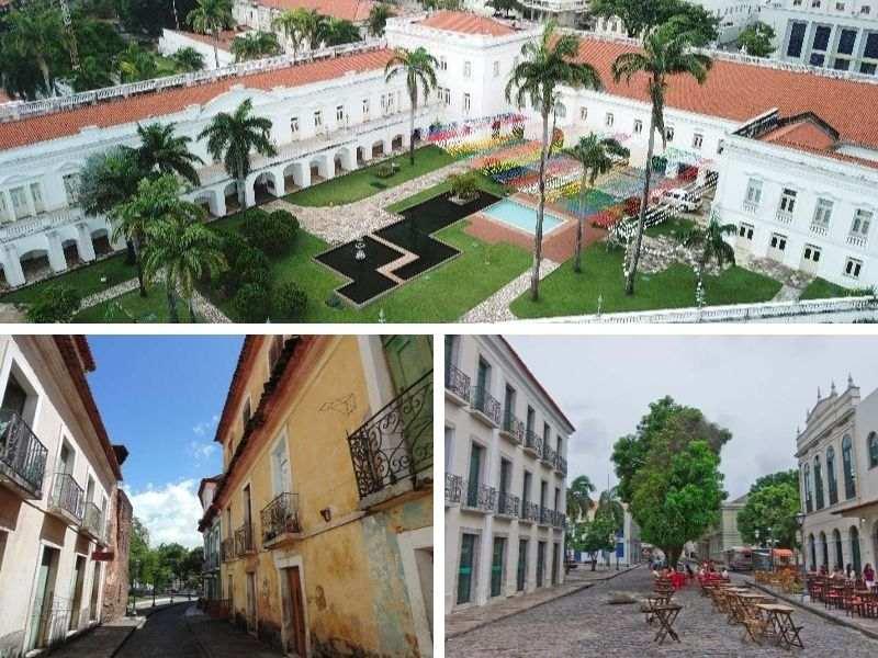 Verschillende bezienswaardigheden São Luís