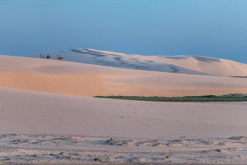 Jericoacoara-Paardrijden door de duinen van Jericoacoara
