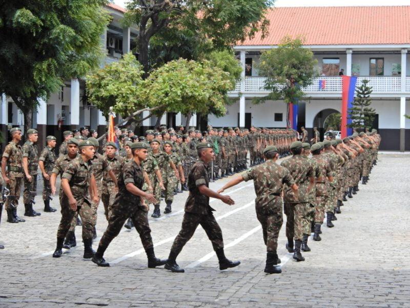 Fortaleza Exército Brasileiro Comando Da Regiao Militaire Parade