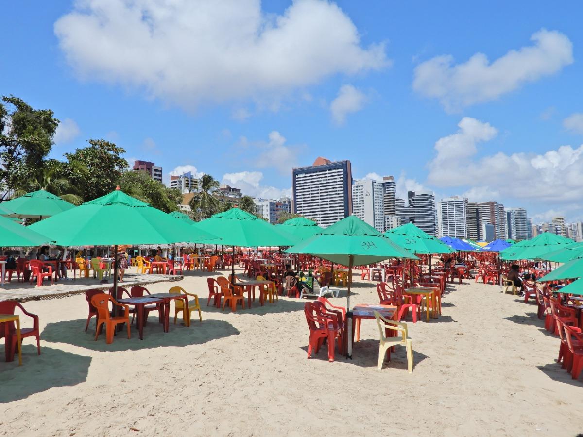 Strand van Meireles Fortaleza