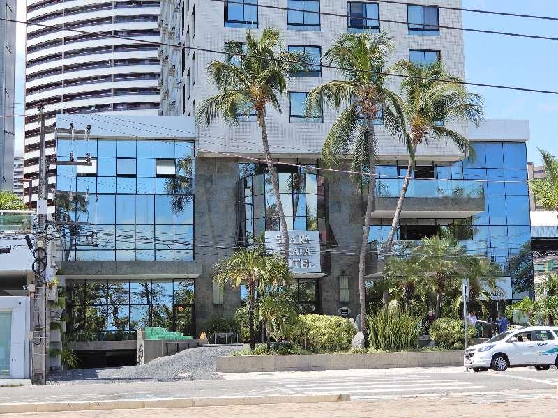 Seara Praia Hotel-Voorkant van het hotel Seara Praia Hotel Fortaleza Brazilië