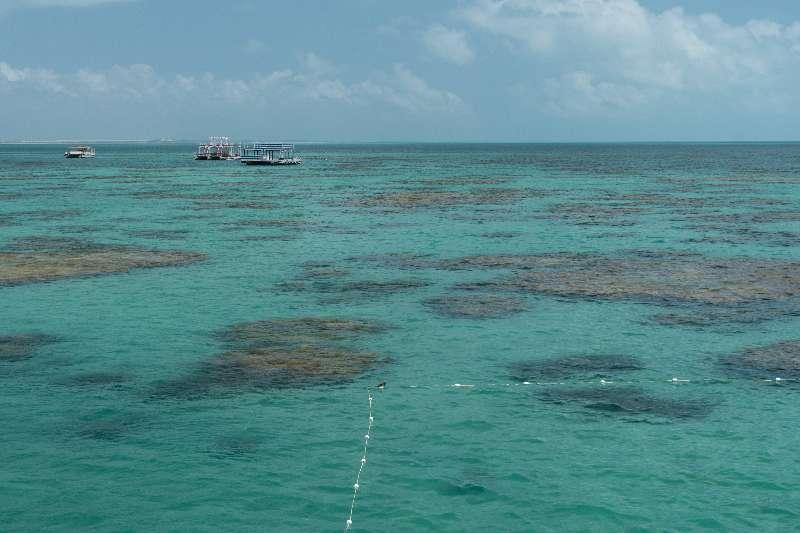 Natuurlijke waterpoelen waar je kunt snorkelen in het blauwe water van Maracajaú