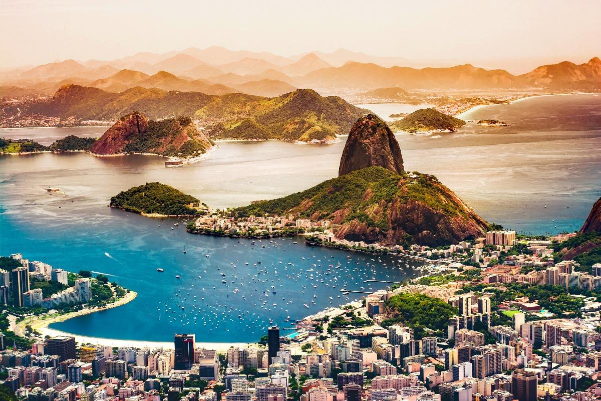 Rio de Janeiro Baai van Guanabara