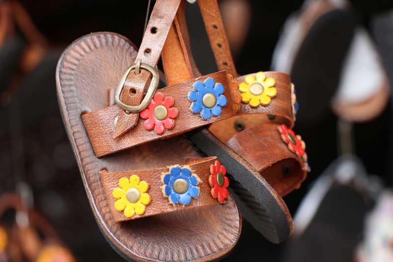 Mercado de São José-Handgemaakte sandalen