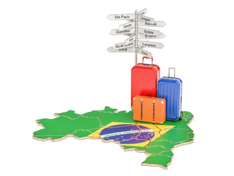 Bestemmingen in Brazilië
