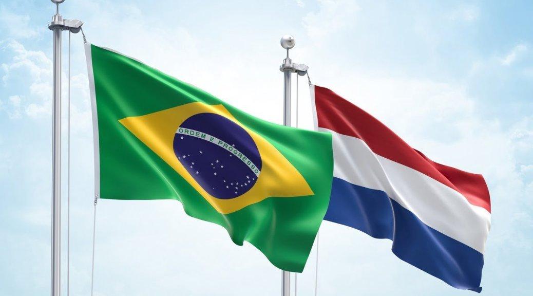 Mijnbrazilie-Brazilië-Pagina Brazilië in Nederland-Vlag van Brazilië-Vlag van Nederland