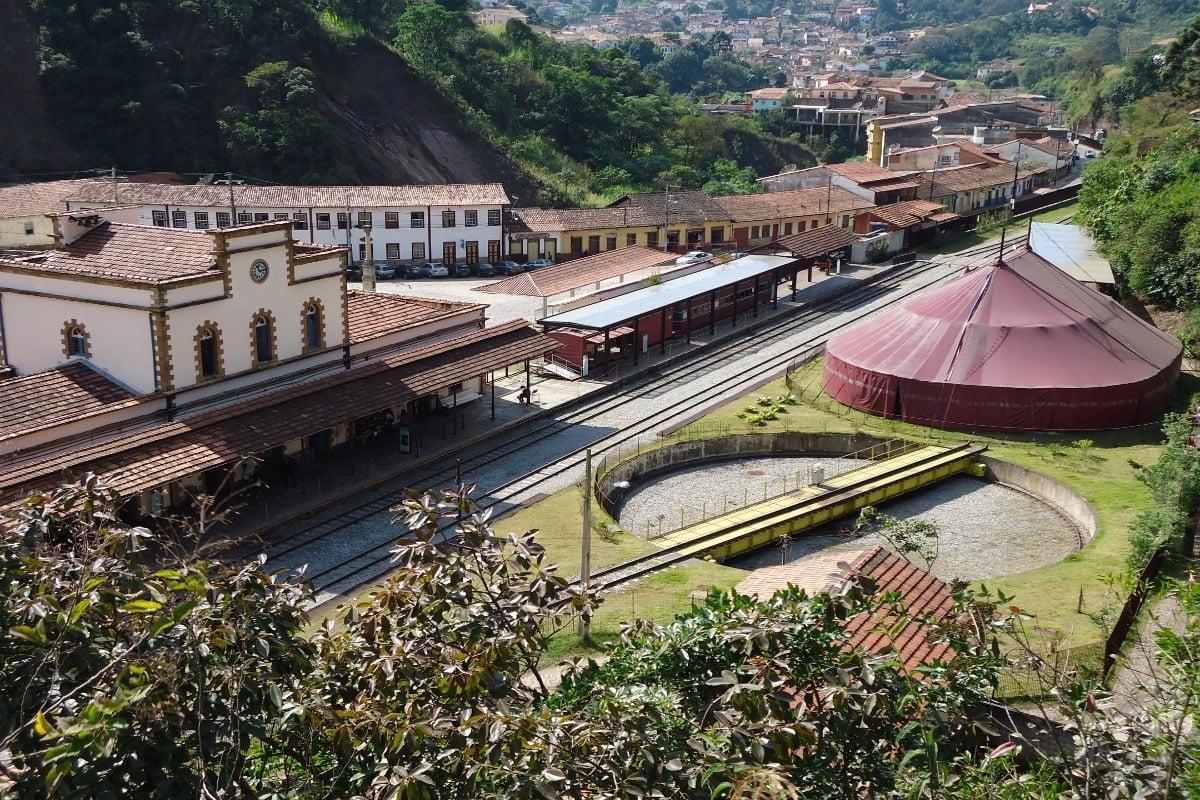 Brazilië Ouro Preto Treinstation