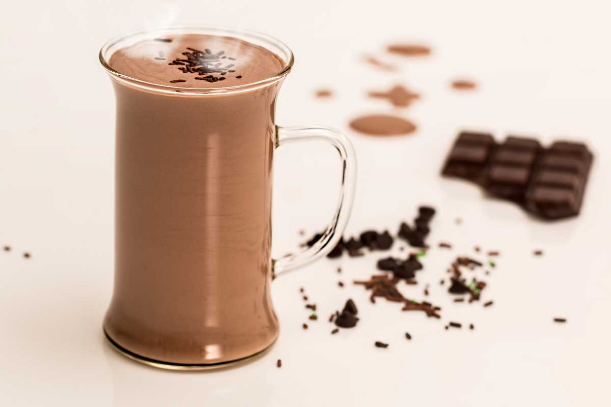 Braziliaanse warme chocolademelk