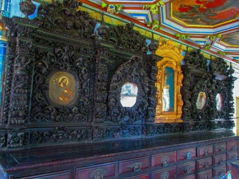 Bezienswaardigheden binnen in de Convento de São Francisco