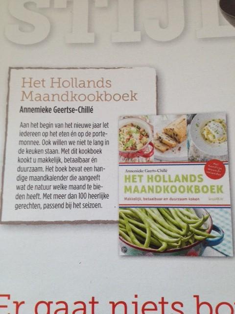 Het Hollands Maandkookboek in Proef