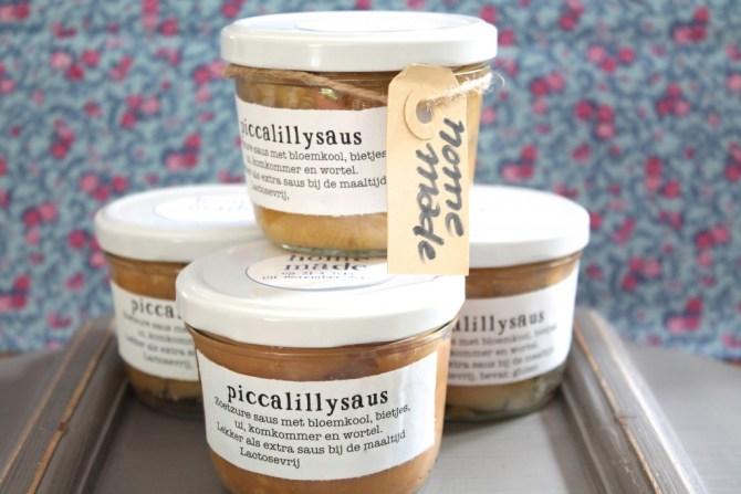 Glutenvrije Piccalilly