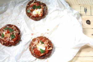 glutenvrije mini pizza's
