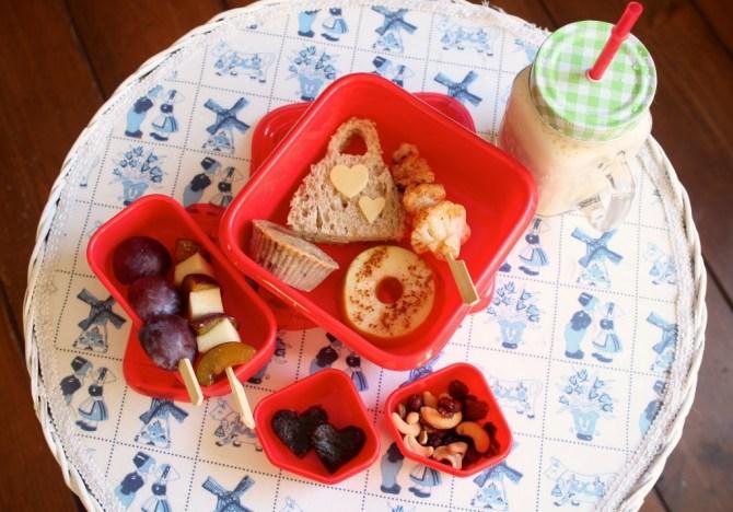 vrolijke lunchbox