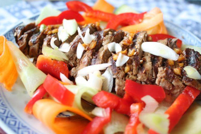biefstuk salade