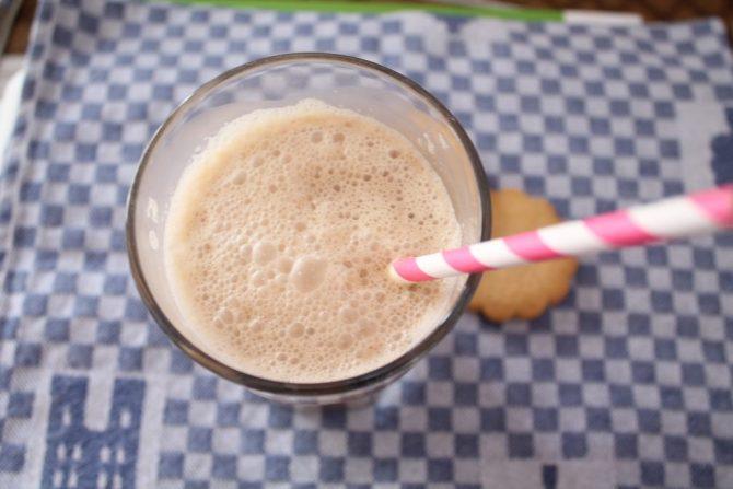 IJskoffie zonder lactose