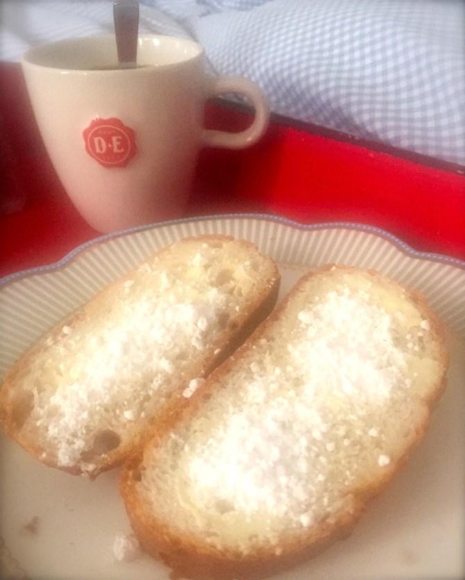 Brood met gestampte muisjes