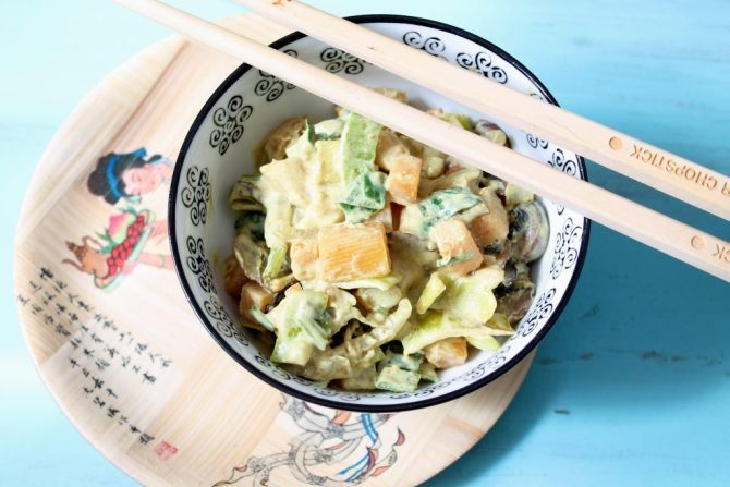 snelle groente curry