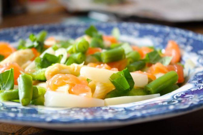Pastasalade met asperges