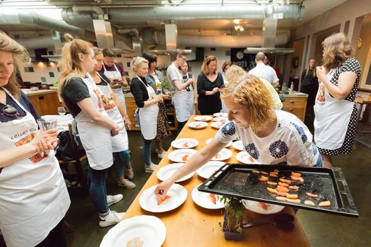 workshop koken met drop