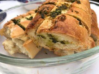 Stokbrood met pesto