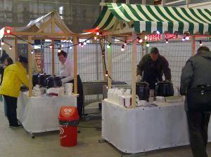 Soep uitdelen Den Haag Nieuw Centraal Station
