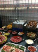 Mediterraans tapas buffet