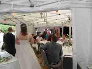 Bruiloft juni 2014 spijkenisse barbeque en drank en rode loper