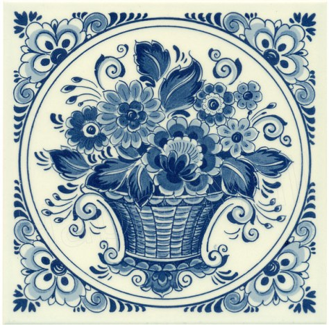 delfts blauw voor holland party met poffertjes en stroopwafels