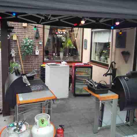 barbecue op verjaardag in spijkenisse