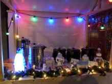 winterdecoratie winterhuisje