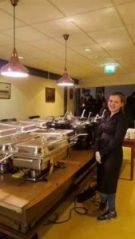 Mediterraans buffet schietvereniging All Arms Rotterdam