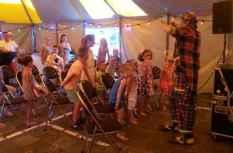 Clown show compleet feest