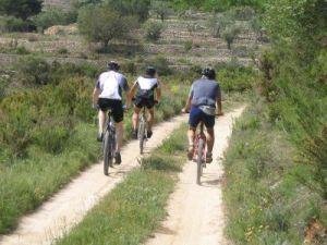 Fietsroutes in Murcia