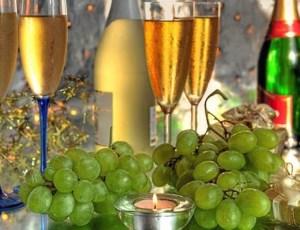 Gastronomie Nieuwjaar Druiven
