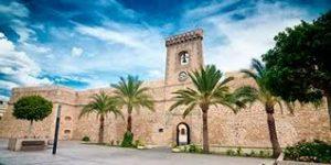 Santa Pola Kasteel Fietsen van Alicante tot Torrevieja