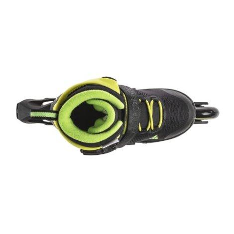 Rollerblade MICROBLADE 3WD - Inline Skate - zwart/lime