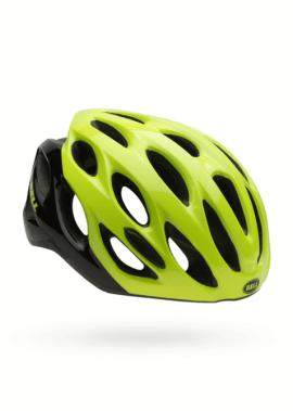 Bell Draft Helm - Zwart/Geel