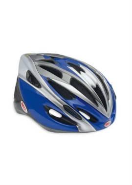 Bell Solar Helm - Inline Skate - Blauw/Titanium