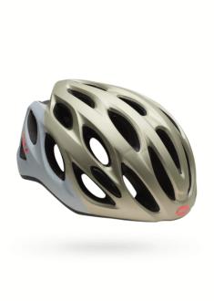 Bell Tempo Helm - Mat Platinum Wit