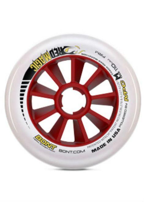 Bont Red Magic Wielen 2 - Inline Skate - 110mm