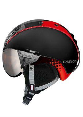 Casco SP-2 Visor F1 zwart rood
