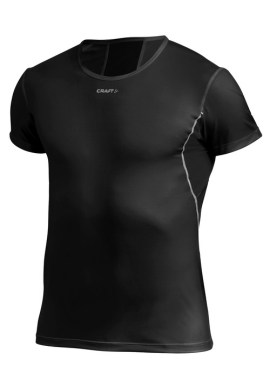 Craft Stay Cool Shirt With Mesh Black - Sportshirt Zwart 193678_1999